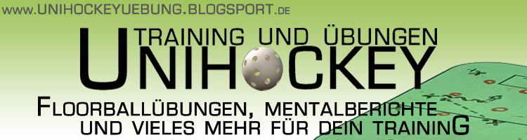 Unihockeyuebung